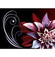 flower fun vector image vector image