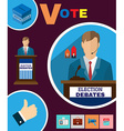 Political Election Debates 2016 Banner vector image