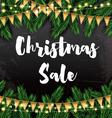 Christmas Sale Business Card vector image