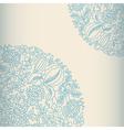 Light ornamental card vector image vector image