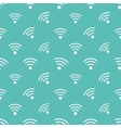 WIFI icons pattern vector image vector image