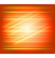 Orange abstract background light speed vector image