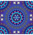 Silvery and violet-blue seamless pattern vector image