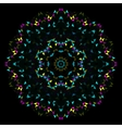 Abstract Geometric Bright Kaleidoscope Pattern vector image