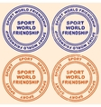 Print Different printing options Sport vector image vector image