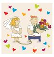 wedding2 vector image