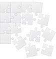 puzzle 09 vector image vector image