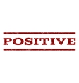 Positive Watermark Stamp vector image