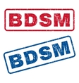 Bdsm Rubber Stamps vector image