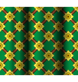 thai pattern background vector image