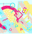 Universal abstract background vector image
