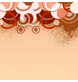 stylish orange banner vector illustration vector image vector image