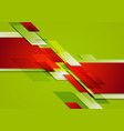 Abstract colorful corporate tech background vector image vector image