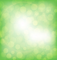Abstrac green background vector image