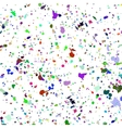 Abstract watercolour colorful spray background vector image