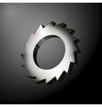 Circular Saw Wheel vector image