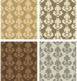 damask patterns vector image