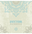Ethnic card vector image