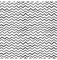 abstract hand draw seamless zig zag pattern vector image vector image