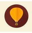 air ballon icon flat vector image