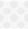 Vintage silver background vector image vector image