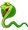 Cute Cobra Cartoon vector image