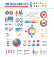Infographic Medical Design Elements Set vector image