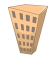 Building icon cartoon style vector image