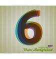 Color Transparency Symbol 6 vector image