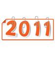 new year sign vector image