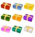 nine gifts vector image