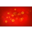 Red abstraction vector image vector image