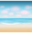 modern summer background vector image