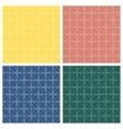 Seamless patterns Geometric lattice vector image