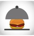 fast food menu icon vector image