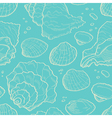 Seashell seamless vector image