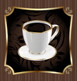 Vintage Coffee Background vector image vector image