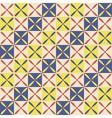 Seamless abstract geometric decor Egyptian style vector image