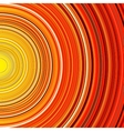 Abstract red and orange circle stripes colorful vector image