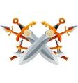 Fantasy Weapon Set vector image vector image
