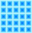 Abstract Blue Square Pattern vector image