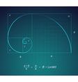 Golden Ratio vector image