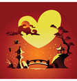 Valentines Day Background with Abstract Background vector image