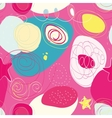 Seamless colorful absract pattern vector image
