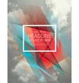 Abstract Shape Background design vector image