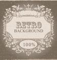 retro vintage emblem vector image