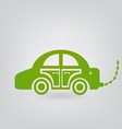 ecologic car vector image vector image