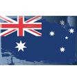 australia national flag vector image vector image