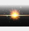 explosion concept isolated on black transparent vector image