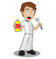 repairman isolated vector image